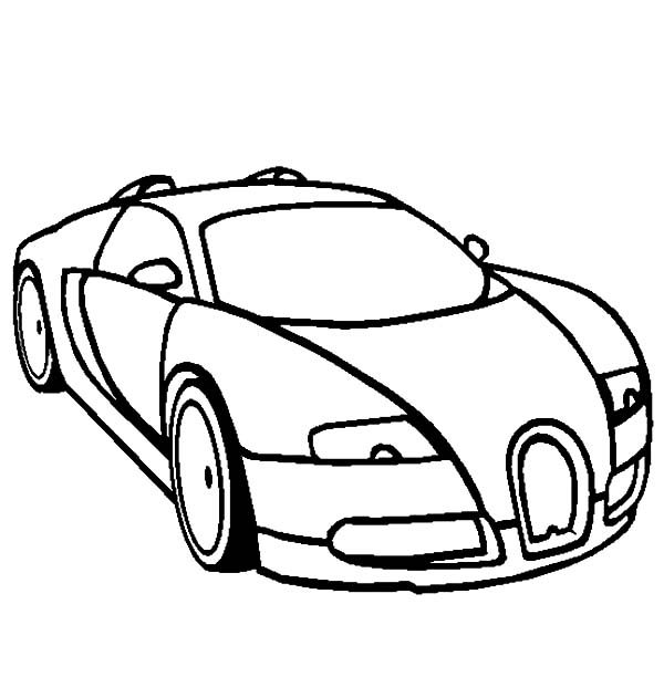 Bugatti Car, : Bugatti Car Coloring Pages for Kids