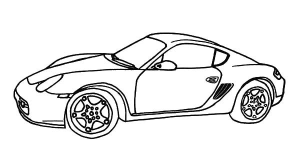 Bugatti Car, : Bugatti Car Speedy Car Coloring Pages