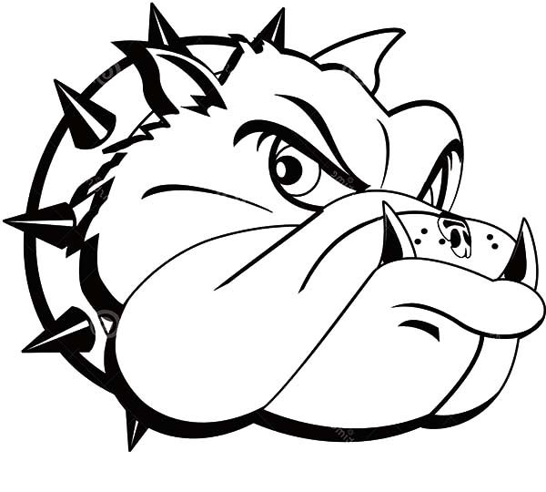 Bulldog Tattoo Coloring Pages | Best Place to Color