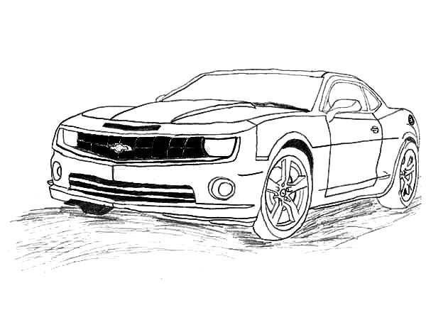 transformer bumblebee car coloring pages - photo#15