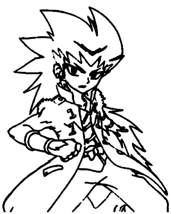 Beyblade, : Dashan Beyblade Coloring Pages
