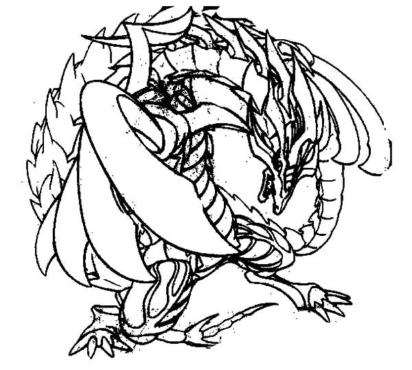 Beyblade, : Drago Beyblade Coloring Pages