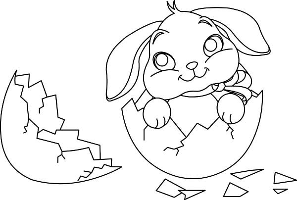 egg broken coloring pages - photo#15