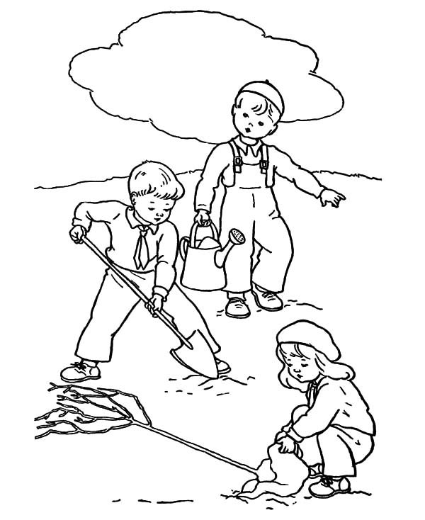 Arbor Day, : Educate Your Children about the Importance of Tree on Arbor Day Coloring Pages