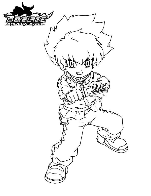 Beyblade, : Eight Beyss Beyblade Coloring Pages 2