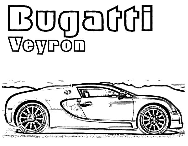 Expensive Car Coloring Pages : Expensive bugatti car coloring pages