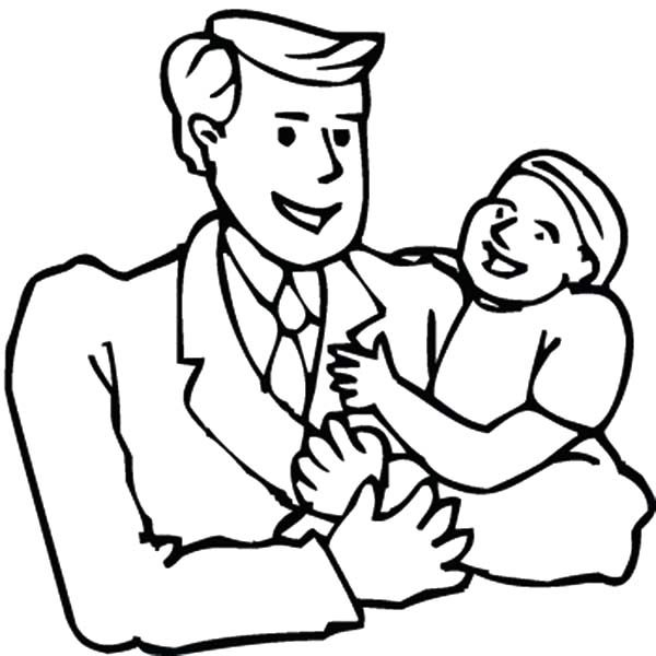 Best Dad, : For Me You are the Best Dad Coloring Pages