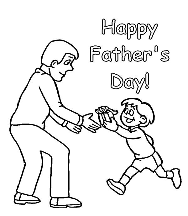 Best Dad, : Happy Father's Day for Best Dad Coloring Pages