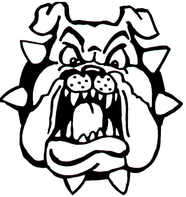 Bulldog, : Hideous Bulldog Coloring Pages