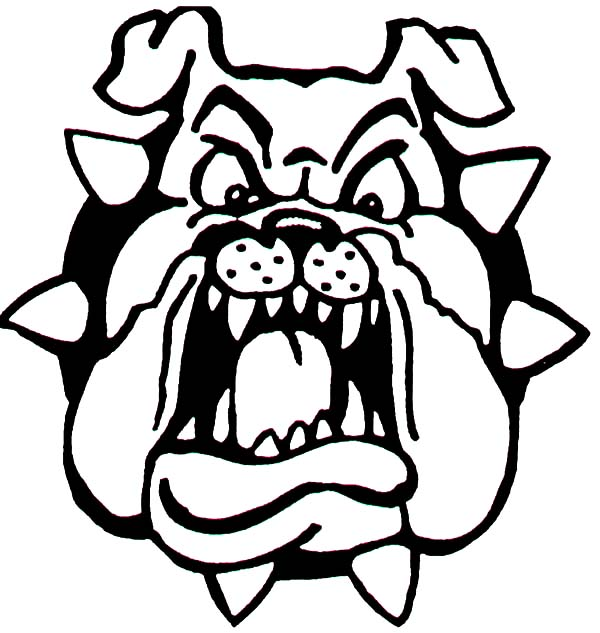 Fat bulldog like towel coloring pages best place to color for Bulldogs coloring pages