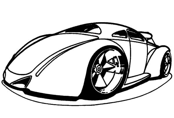 Bugatti Car, : Hot Wheels Bugatti Car Coloring Pages