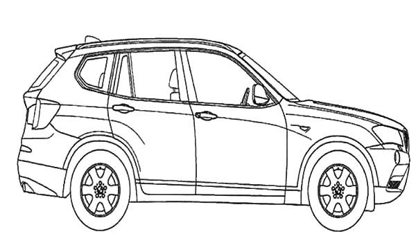 BMW Car, : How to Draw BMW Car Coloring Pages
