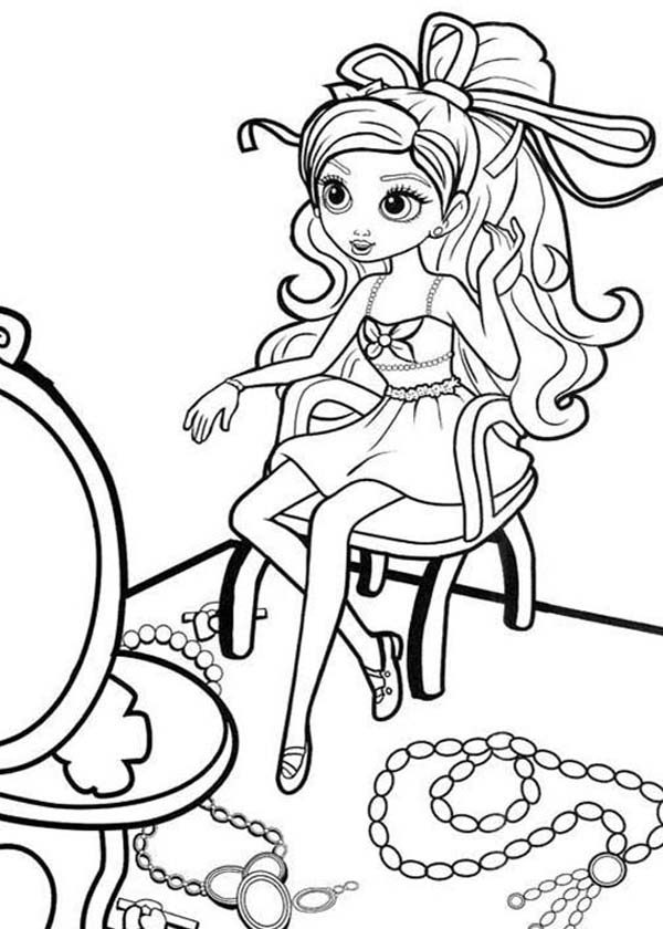 Barbie Thumbelina, : How to Draw Barbie Thumbelina Coloring Pages