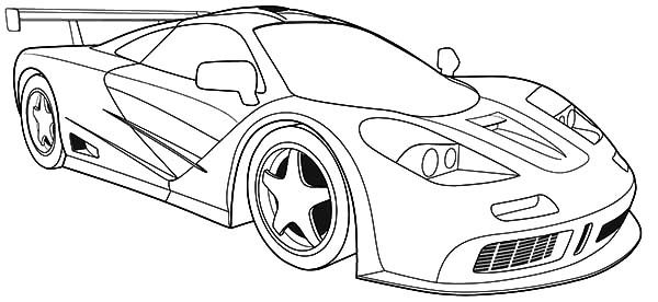 How To Draw Bugatti Car Coloring Pages