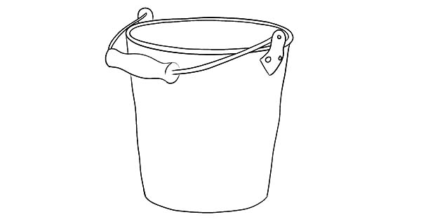 Cherry picker coloring coloring pages for Sand bucket template