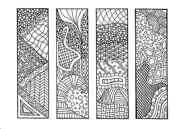 Printable Bookmarks For Colouring : Free coloring pages of book marks
