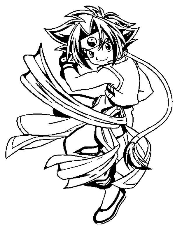 beyblade coloring pages - beyblade metal fury free coloring pages