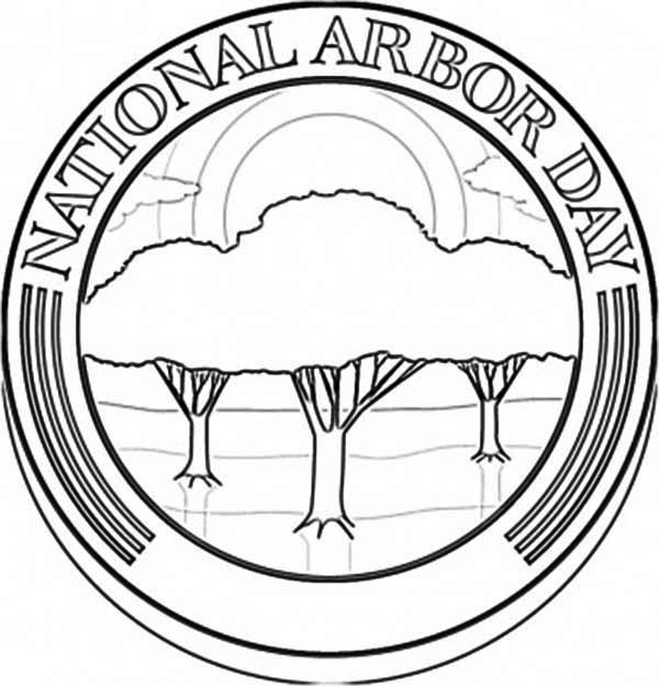 Arbor Day, : National Arbor Day Coloring Pages