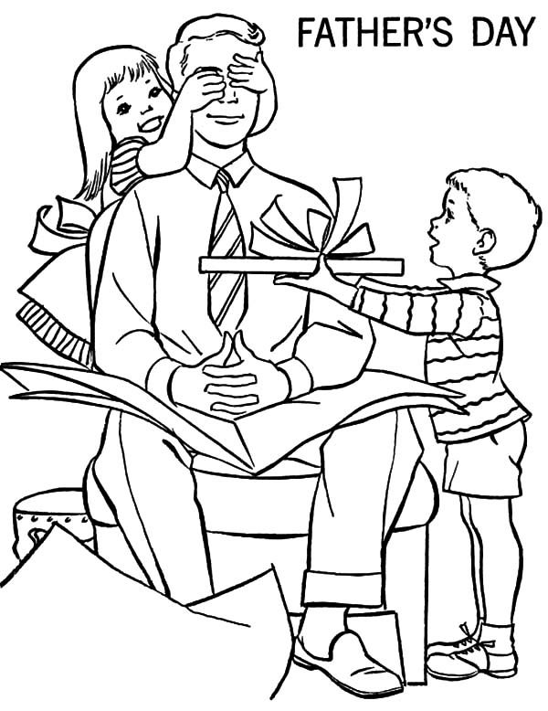 Best Dad, : No Peeking Best Dad Coloring Pages
