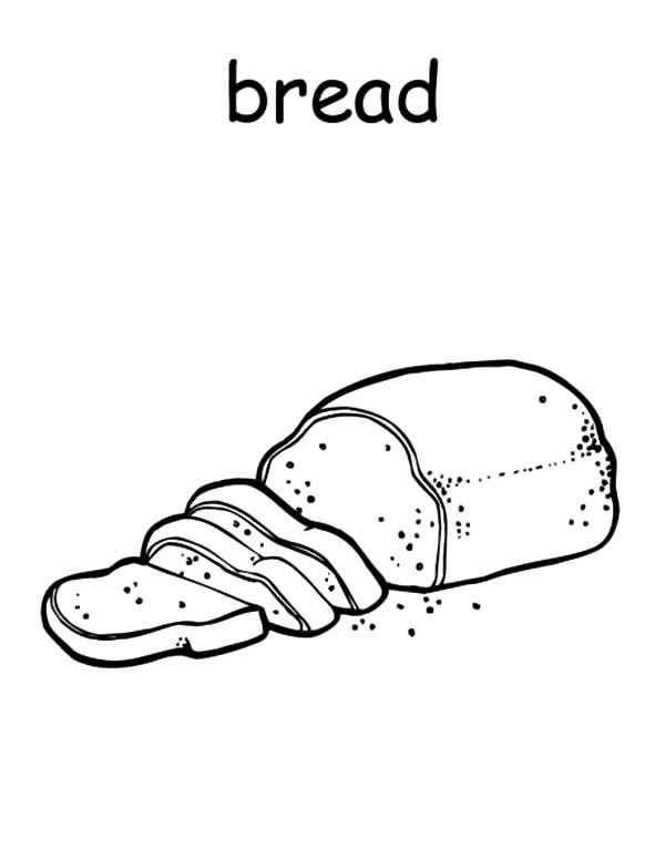 bread of life coloring pages - photo#15
