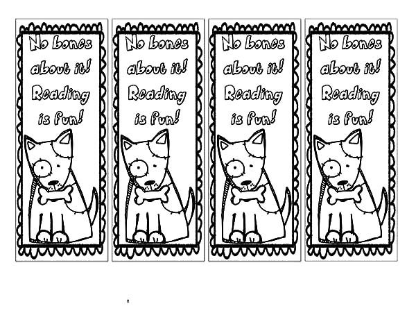 Printable Bookmarks For Colouring : Free coloring pages of bookmarks to colour in