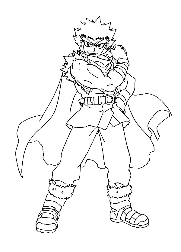 Coloring pages beyblade metal fusion