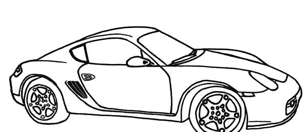 BMW Car, : Sport BMW Car Top Speed Coloring Pages