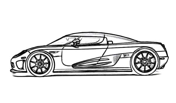 Bugatti Car, : Super Fast Car Bugatti Car Coloring Pages