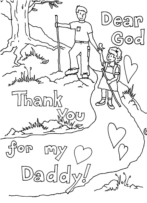 Thank You Coloring Page Free Pages
