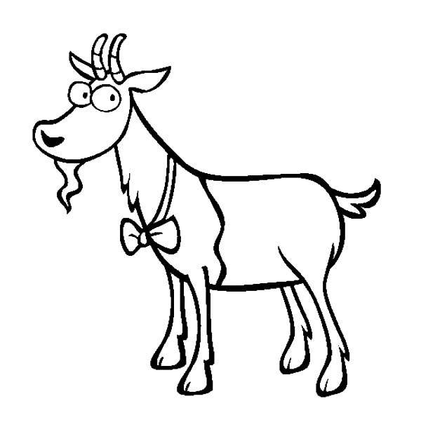 Billy the Goat, : The Clever Billy the Goat Coloring Pages