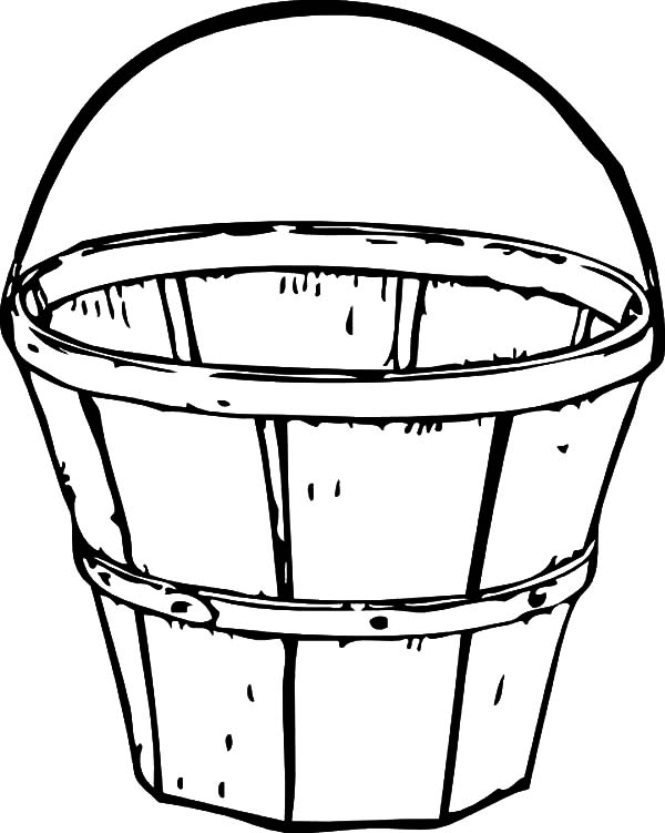 Pail And Bucket Coloring Page
