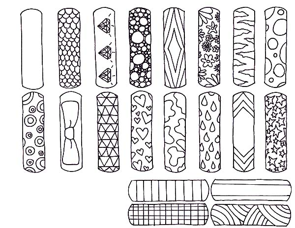 various design bookmarks coloring pages  various design bookmarks coloring pages  u2013 best place to
