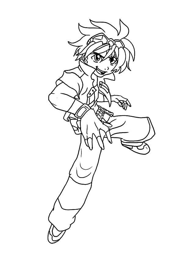 Beyblade, : Yuki Beyblade Coloring Pages