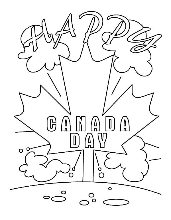 Canada Day, : A Jolly 2015 Canada Day Event Coloring Pages