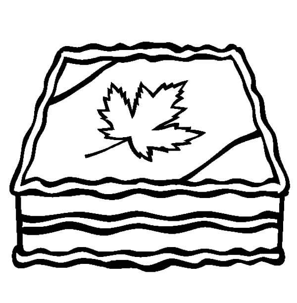 Canada Day, : A Yummy 2015 Canada Day Event Cake Coloring Pages