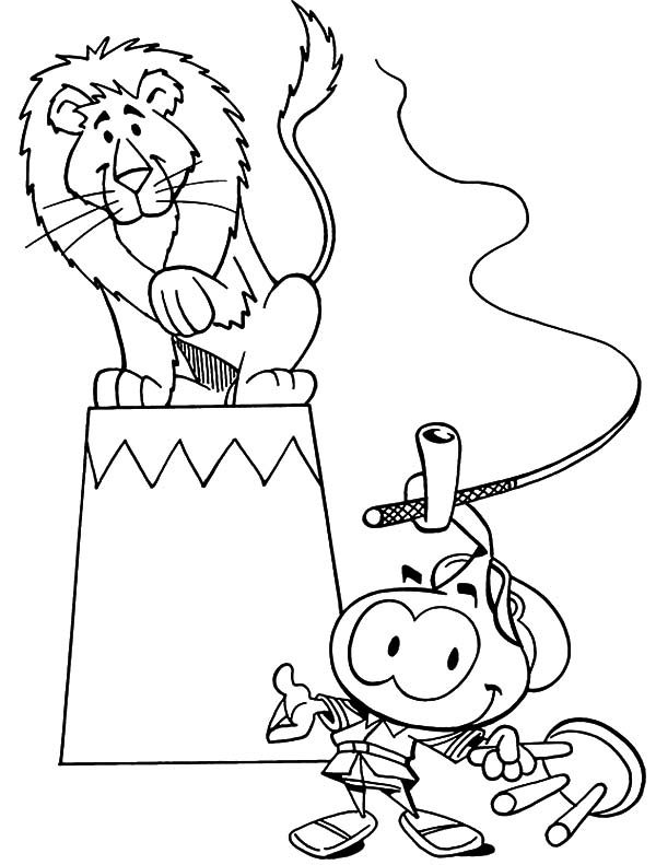 Snorkels, : Allstar Seaworthy Being Animal Tamer in Snorkels Coloring Pages