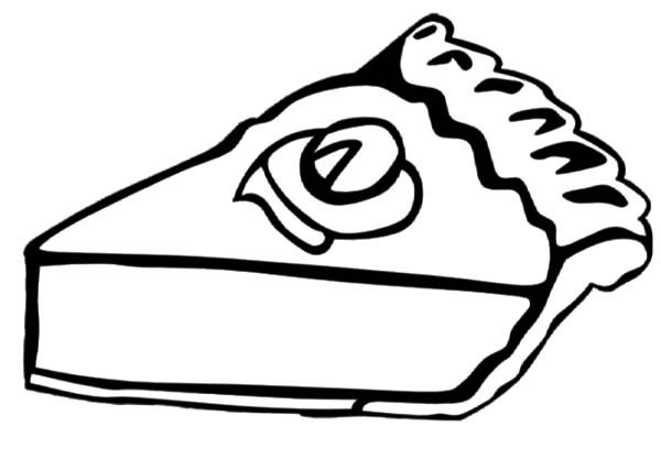Cake Slice, : Cake Slice Coloring Pages