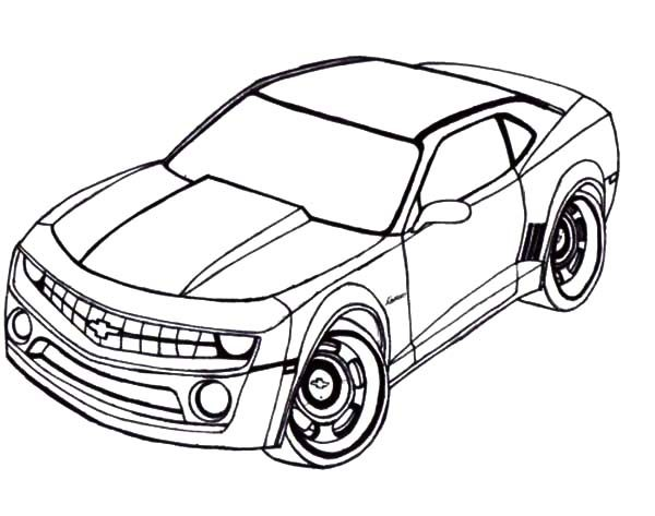 Camaro Cars, : Camaro Cars Coloring Pages
