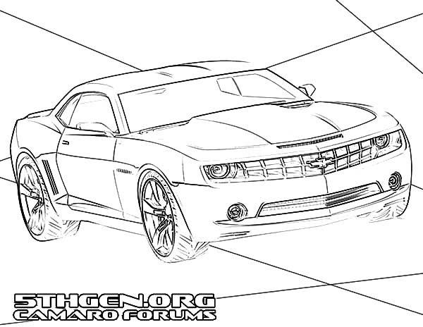Camaro Cars, : Camaro Cars Forums Coloring Pages