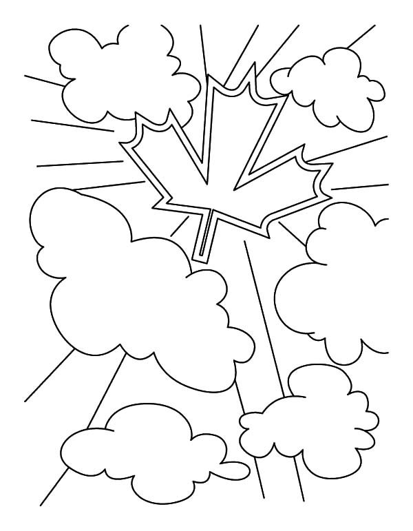 Canada Day, : Canadian National Symbol for 2015 Canada Day Event Coloring Pages