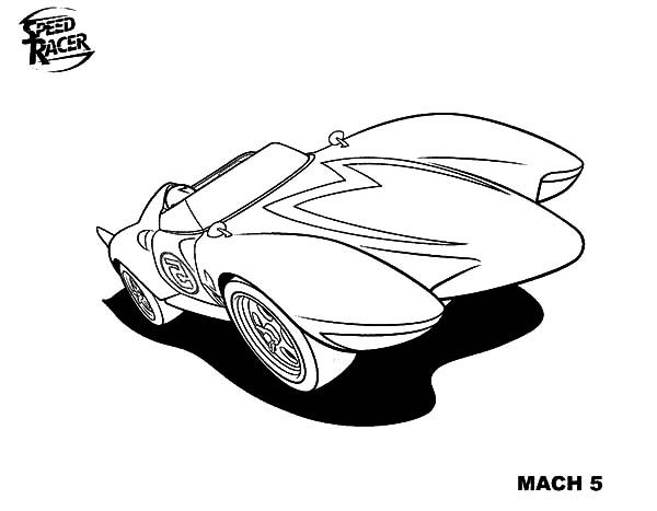 coloring pages speed racer - photo#31