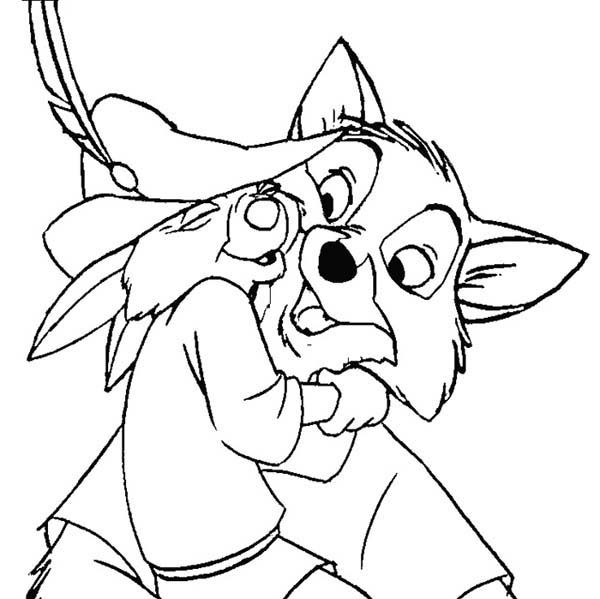 everybody love robin hood coloring pages - Disney Robin Hood Coloring Pages