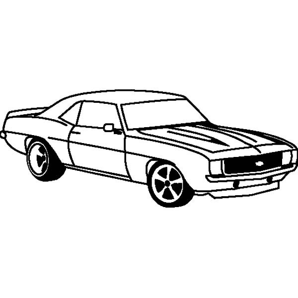 Camaro Cars, : How to Draw Camaro Cars Coloring Pages