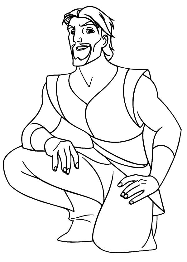 Sinbad the Sailor, : How to Draw Sinbad the Sailor Coloring Pages