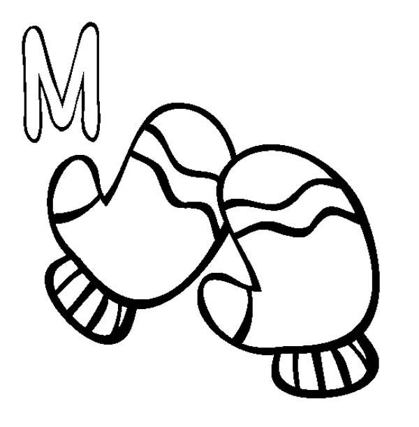 Learn Letter M Coloring Page | Best Place to Color