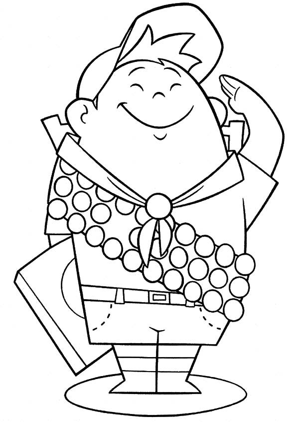 Little Scouting Boy Russel Up Coloring Pages Best Place To Color Up Coloring Pages