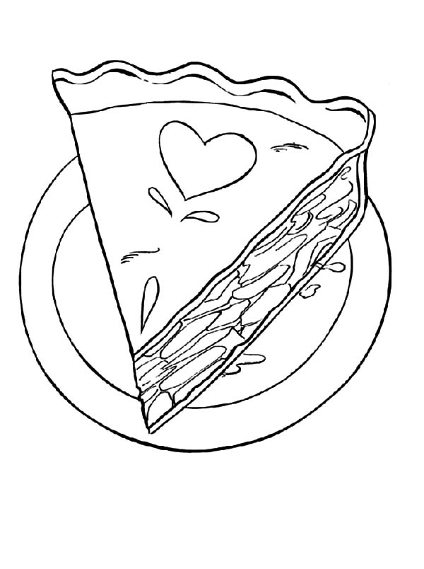 Orange slice coloring pages