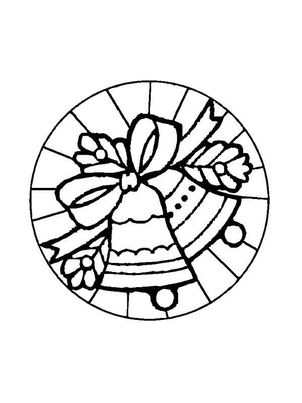 Christmas Mandala, : Mandala Christmas Ornaments Coloring Pages