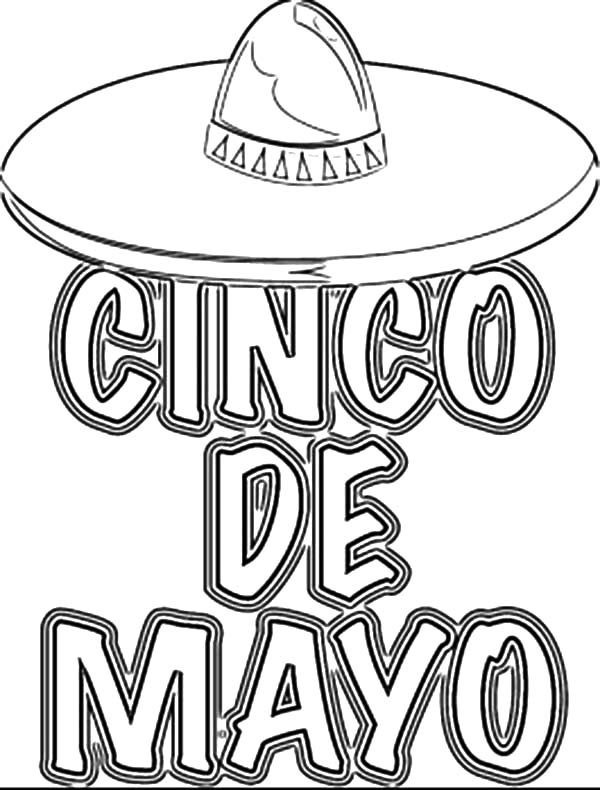 Cinco de Mayo, : Mexican Great Holiday Cinco de Mayo Coloring Pages