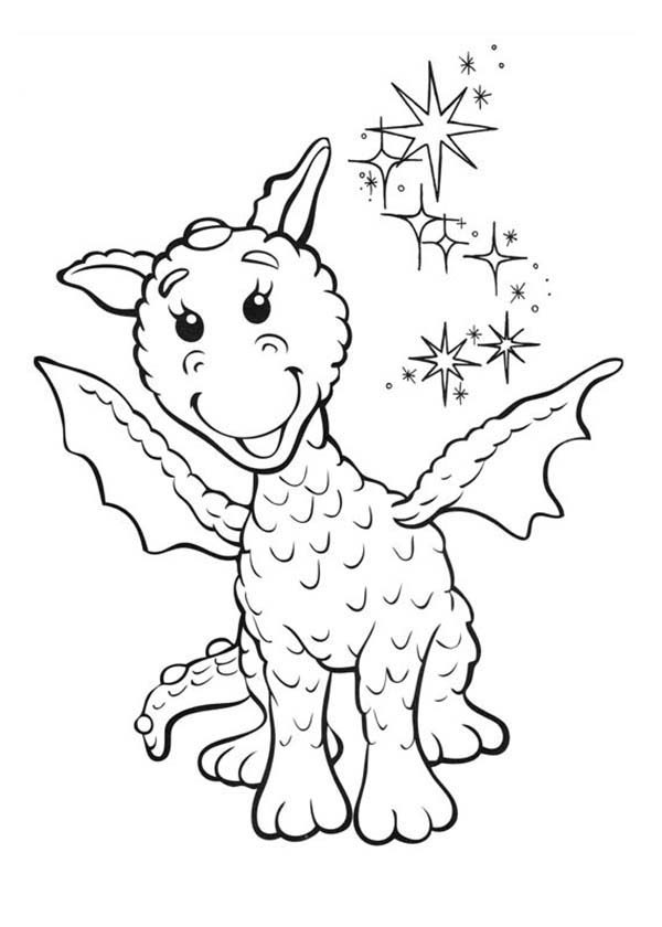 Rupert Bear, : Ming the Dragon is Smiling in Rupert Bear Coloring Pages